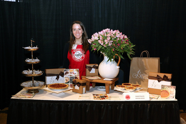 Amanda Wilbanks, owner of Gainesville's Southern Baked Pie Company, baked her way to the grand prize with her caramel pecan pie in the University of Georgia's 2016 Flavor of Georgia Food Product Contest.